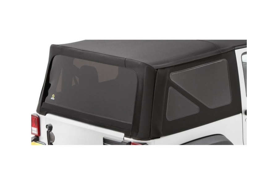 Bestop Soft Top Replacement Tinted Window Kit Black Diamond - JK 2dr 2007-10