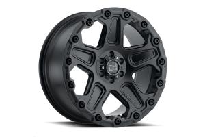 Black Rhino Cog Wheel 17x9.5 5x5 Matte Black (Part Number: )