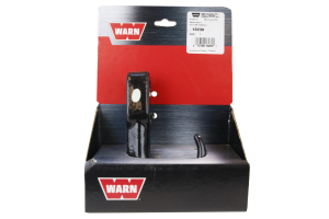 Warn Tow Hook Black