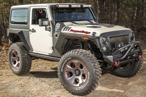 Rugged Ridge XHD Rear Armor Fenders (Part Number: 11615.03)