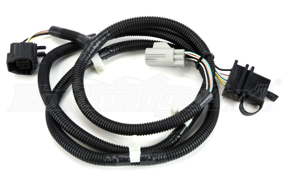 Jeep jk rugged ridge trailer wiring harness