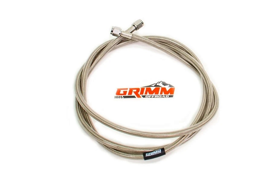 Grimm Offroad Braided Air Hose - 80in