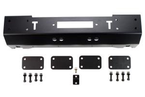 EVO Manufacturing Quarter Pounder Front Bumper Black ( Part Number: 1112B)