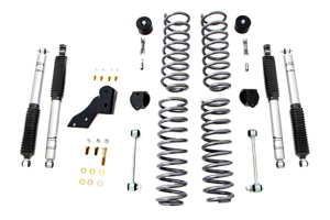 Rubicon Express 2.5in Standard Coil Lift Kit, Mono Tube Shocks - JK 4DR