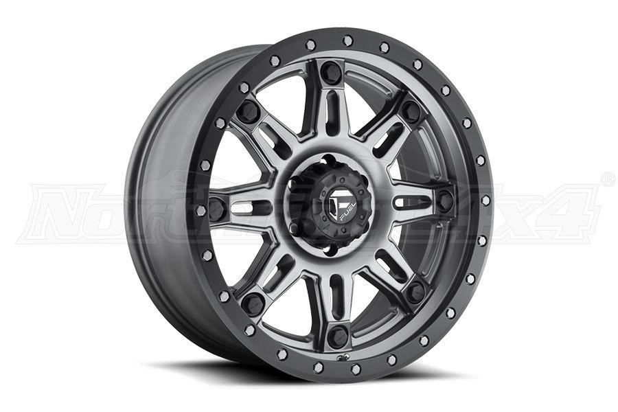 MHT Luxory Alloys Fuel Hostage III Wheel, GunMetal Matte 17x9 5x5 (Part Number:D56817907350)