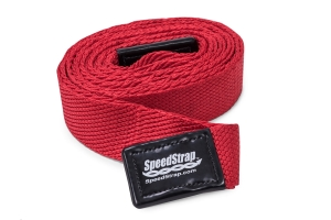 SpeedStrap 2in Big Daddy Weavable Recovery Strap, 25ft Red  (Part Number: )