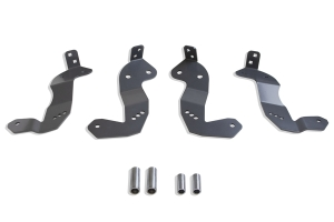 Maxtrac Suspension Front Geometry Correction Brackets - JT/JL
