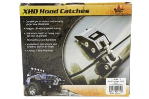 Rugged Ridge Aluminum Hood Catch Black - JK