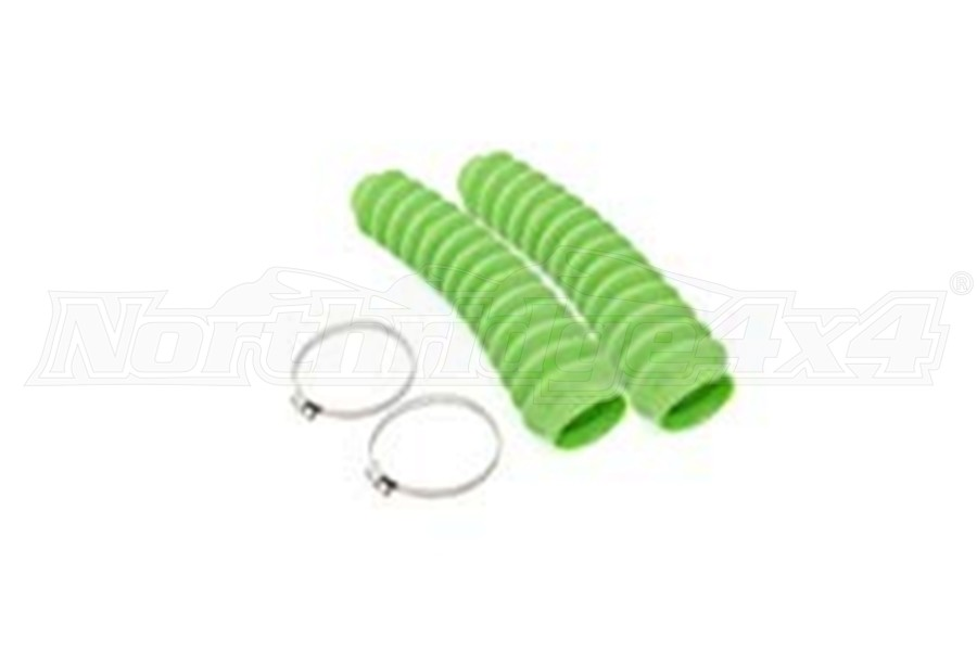 Rough Country Shock Boot Neon Green (Part Number:87182)
