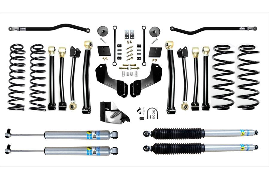 Evo Manufacturing 3.5in Enforcer Overland Stage 4 PLUS Lift Kit w/ Bilstein Shocks - JL