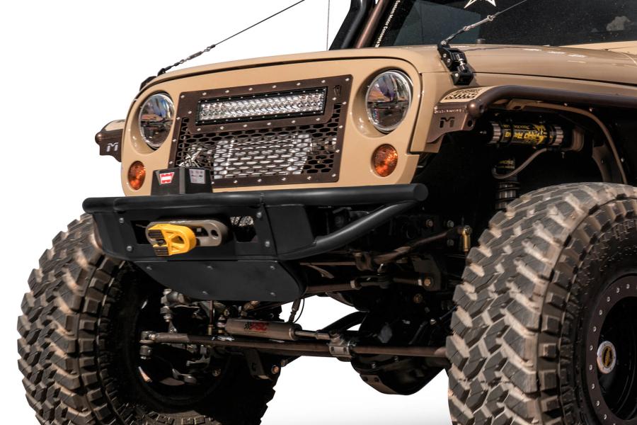 Addictive Desert Designs Venom Front Bumper with Winch Mount  (Part Number:F952271370103)
