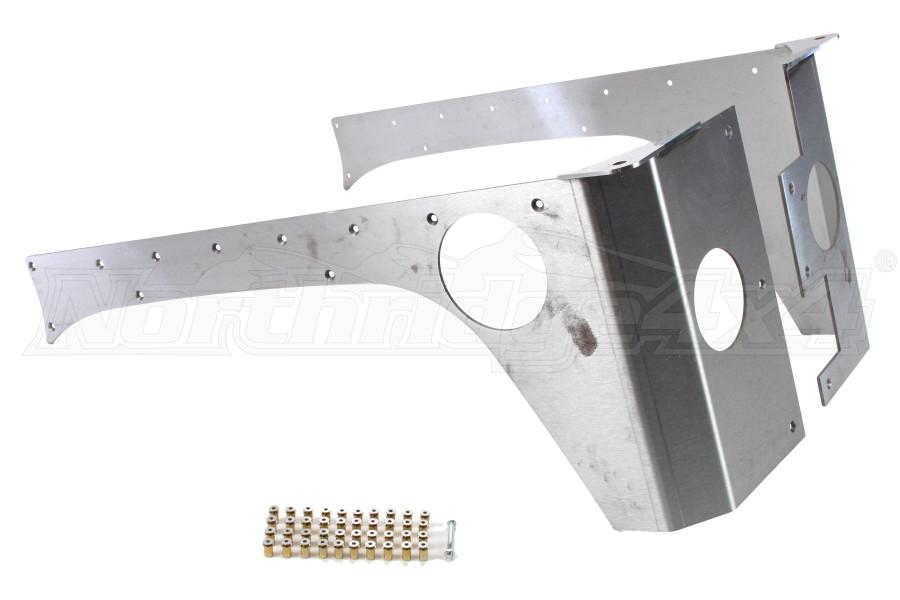 EVO Manufacturing Rockskin Corners Rear - JK 4dr