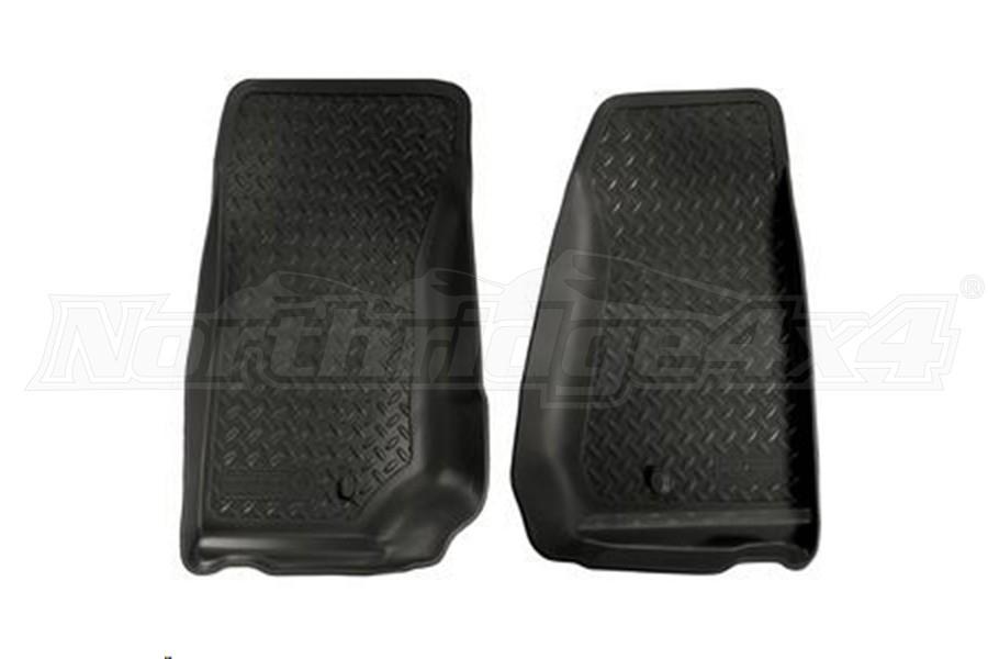 Husky Liners Front Row Liners Black (Part Number:30521)