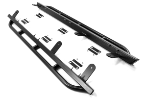 Rock Hard 4x4 Patriot Series Rocker Guards Tube Style (Part Number: )