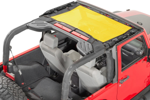 Dirty Dog 4x4 Front Seat Sun Screen Yellow (Part Number: )