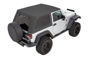Bestop Trektop Pro Hybrid Soft Top, Grey - JK 2dr