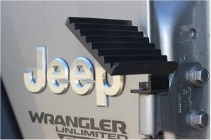 FishBone Offroad Foot Peg Set - Black - JT/JL