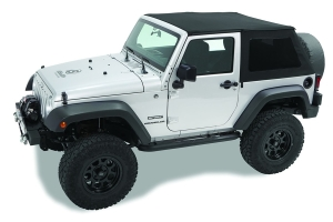 Bestop Sprint Top Frameless Soft Top, Black Diamond - JK 2Dr 2007-09