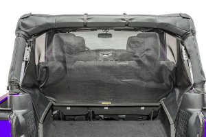 Dirty Dog 4x4 Screen Pet Divider, Behind Rear Seat, Black (Part Number: )