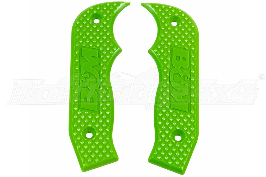 B&M Racing Magnum Shifter Replacement Grip Plates - Green