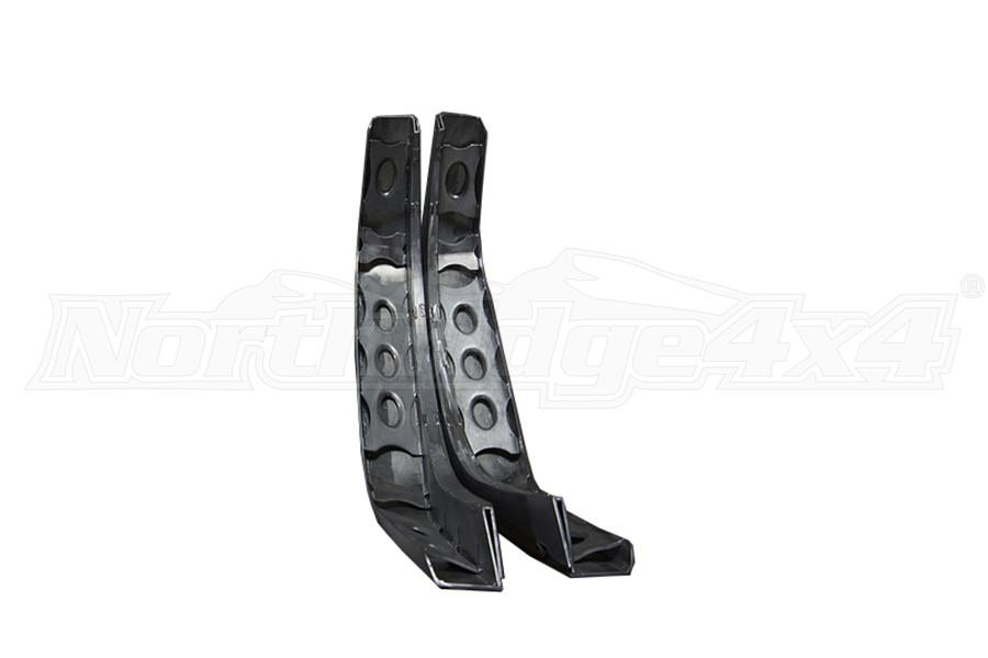 Nemesis Industries Crawler Rear Flare w/Skeletos, Texture Black Powder Coating - Aluminum (Part Number:126312)
