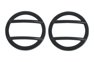 Kentrol Side Marker Cover Set - Powdercoat Black  - JK