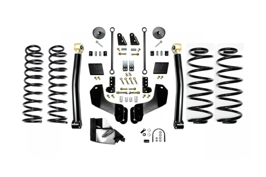 EVO Manufacturing 3.5in Enforcer Overland Lift Kit w/Shock Extensions Stage 2 (Part Number:3014S2EXT)