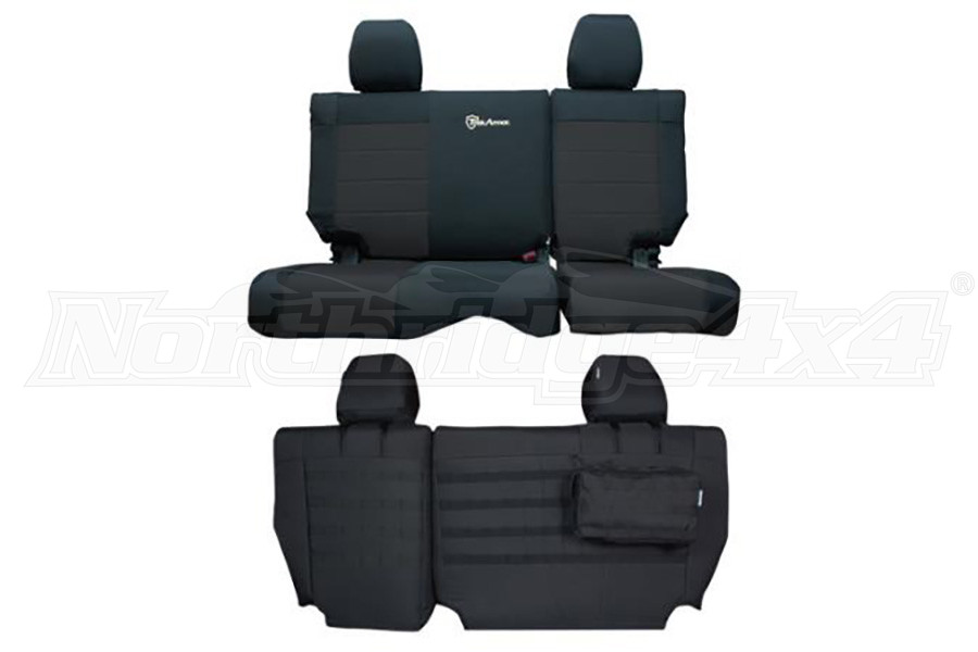 Bartact Mil-Spec Rear Bench Seat Cover  (Part Number:JKSC1112R2B)