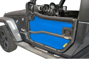 Dirty Dog 4x4 Rugged Ridge Tube Door Screens Blue (Part Number: )