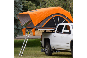 Freespirit Recreation High Country Series 80in Roof Top Tent, Grey/Orange (Part Number: )