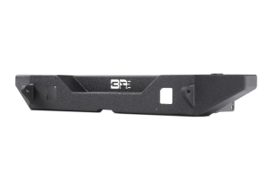 Body Armor Full-Width Rear Bumper w/ Tire Carrier Mount - JK