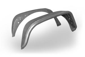Poison Spyder Extra Wide Rear Crusher Flares Steel Bare - JK