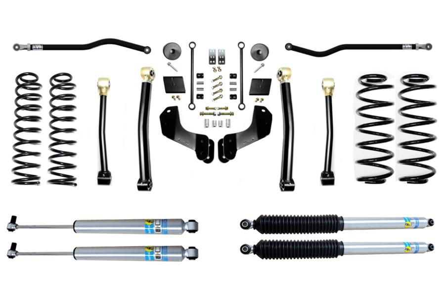 Evo Manufacturing 2.5in Enforcer Overland Stage 3 PLUS Lift Kit w/ Bilstein Shocks - JL