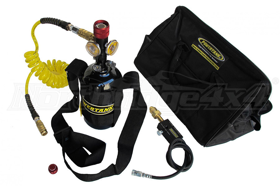 Powertank Nitrogen N2 Sidearm System Package 400 PSI Power Tank (Part Number:PS72-4340)