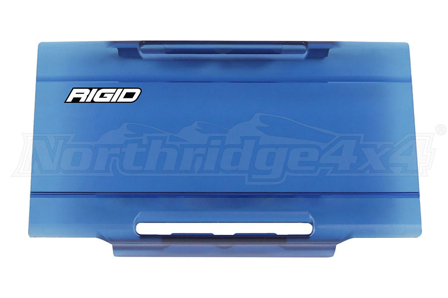 Rigid Industries E-Series 6IN Light Cover, Blue (Part Number:106943)