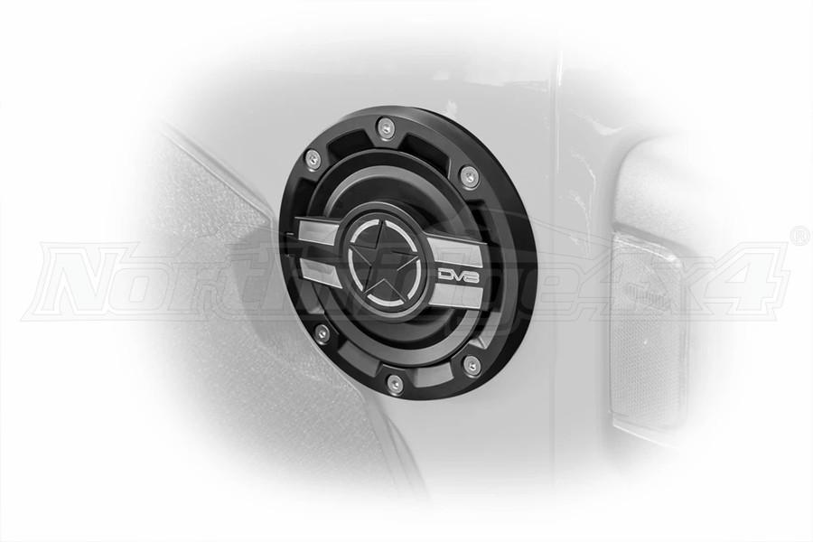 DV8 Offroad Aluminum Fuel Door - JL