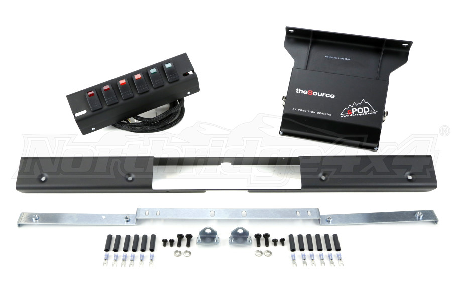 sPOD 6-Switch Panel and Source System (Part Number:500-97)