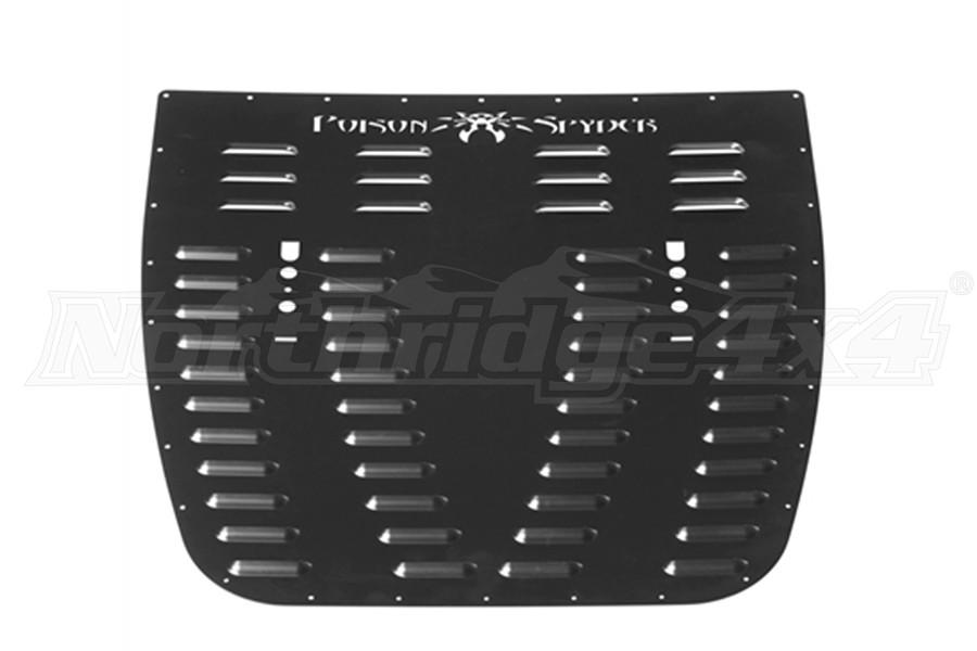 Poison Spyder Hood Louver, Black - JT/JL Sport/Sahara