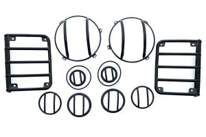 Rugged Ridge Euro Guard Light Kit  ( Part Number: 12496.02)