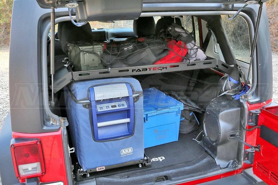 Fabtech Interior Cargo Rack, Black - JK 4Dr