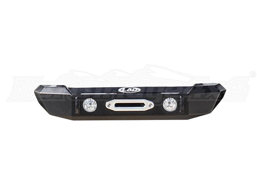 LOD Signature Series Shorty Front Bumper w/ NO GUARD, Black - JT/JL