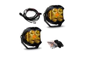Baja Designs LP4 Pro LED Driving Combo Amber Lens Pair