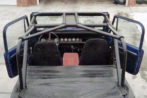 Rock Hard 4x4 Ultimate Sports Cage Rear Angle Bars (Part Number: )