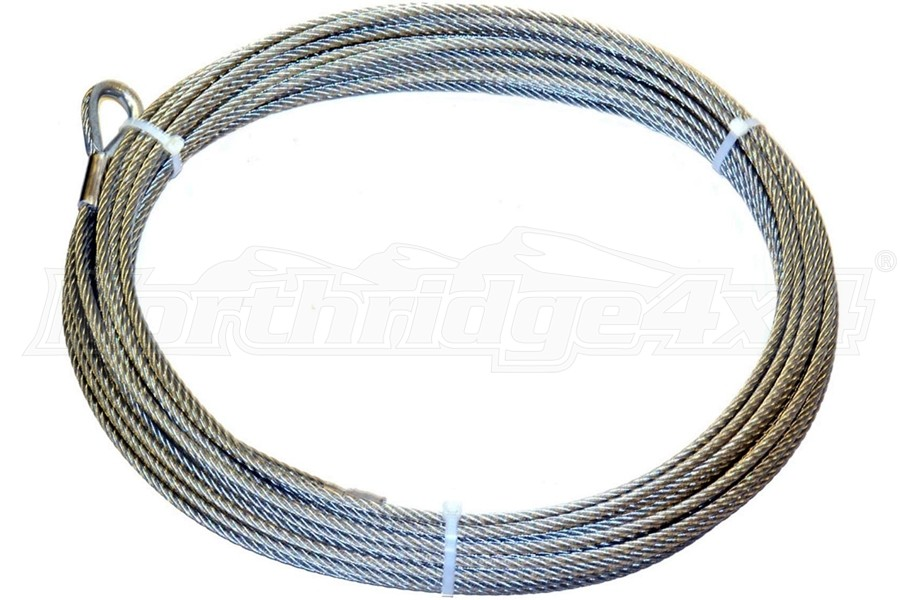 Warn Truck/Auto Replacement Wire Rope - 5/16in x 125ft