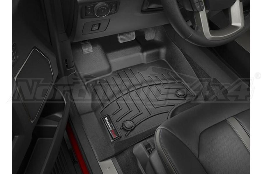 WeatherTech Front Floorliner Black (Part Number:446971)