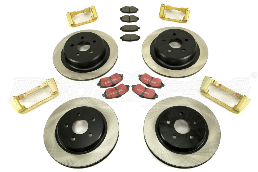 Dynatrac ProGrip Brake Upgrade System (Part Number:JK44-2X1125-A)