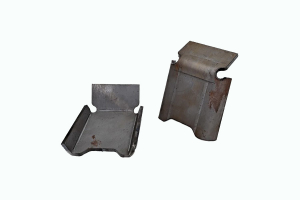 Rough Country Front Lower Control Arm Skid Plates - Pair (Part Number: )
