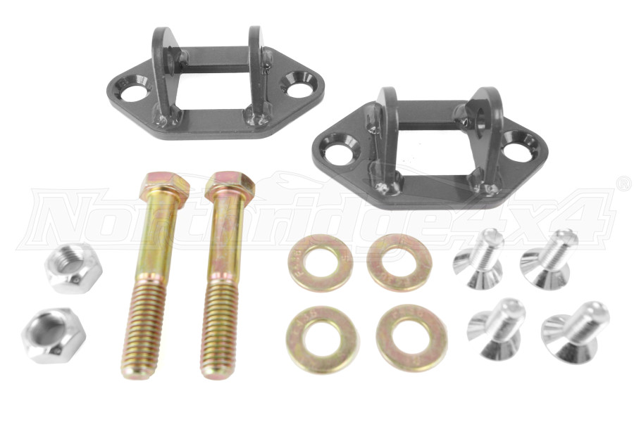 Jeep Jk Synergy Manufacturing Bar Pin Eliminator Kit Rear