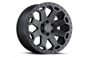 Black Rhino Warlord Wheel 17x9 5x5 Matte Gunmetal (Part Number: )