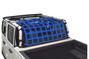 Dirty Dog 4x4 Rear Seat Netting, Blue - JT
